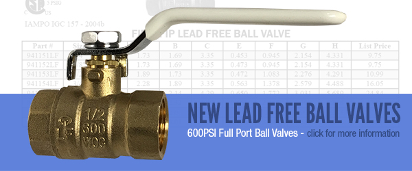 Lead Free Ball Valves