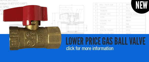 Lower price Gas Valves