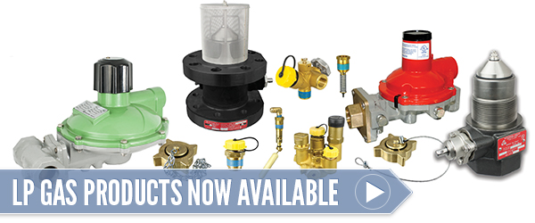 LP Gas Products Now Available