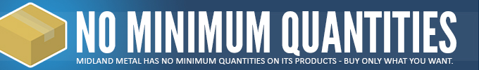 Midland has no minimum quantities